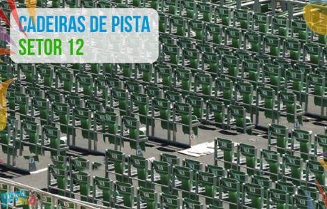 Cadeiras de Pista Carnaval do Rio - Marquês de Sapucaí - Ticket Rio Ingresso Fácil