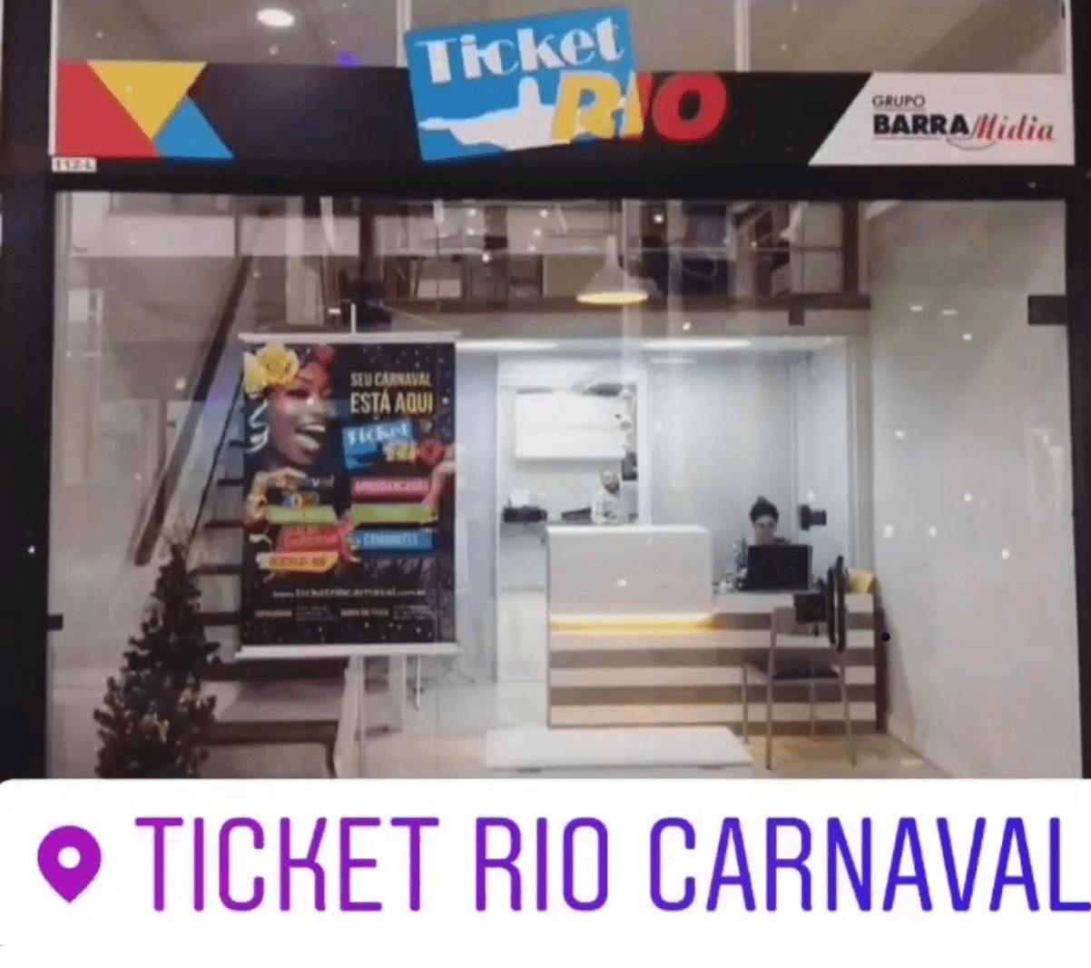 Loja Física Ticket Rio